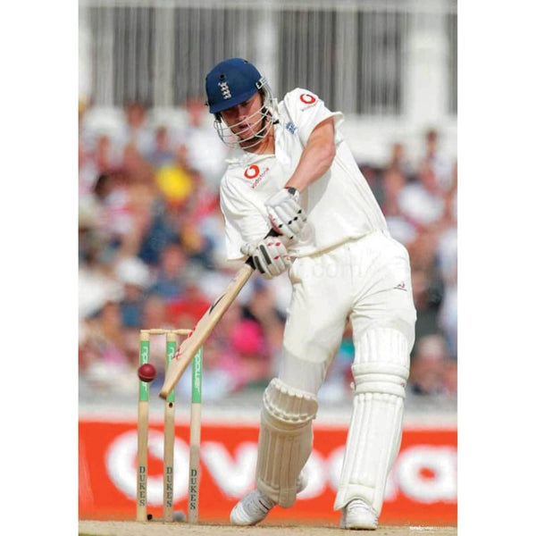 Andrew Flintoff in action during the Npower Fifth Test - England v South Africa at the Oval | TotalPoster