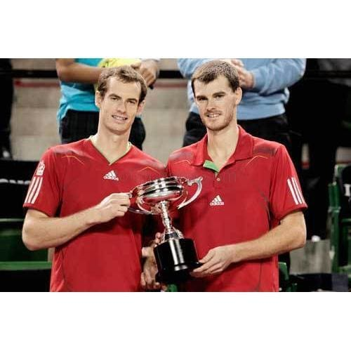 Andy and Jamie Murray win the doubles final of the Rakuten Open TotalPoster