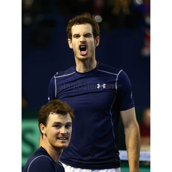 Andy and Jamie Murray poster | Tennis Davis Cup | TotalPoster