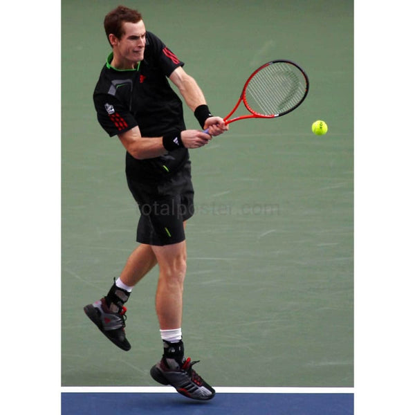 Andy Murray during his victory over Nadal in the Rakuten Open TotalPoster