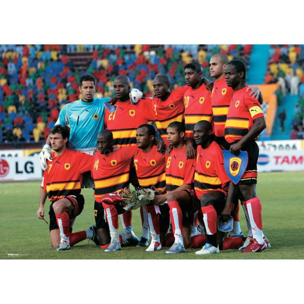 Angola World Cup Soccer Team - Poster