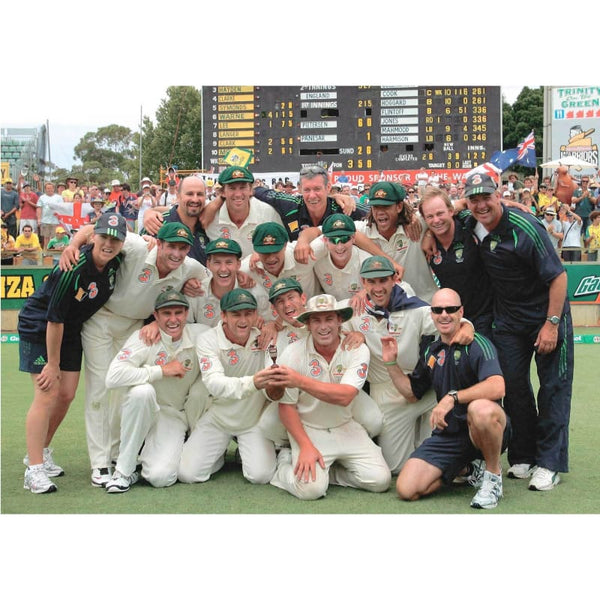 Australia Celebrate winning the the 3rd Ashes Cricket test match and the Ashes series | TotalPoster