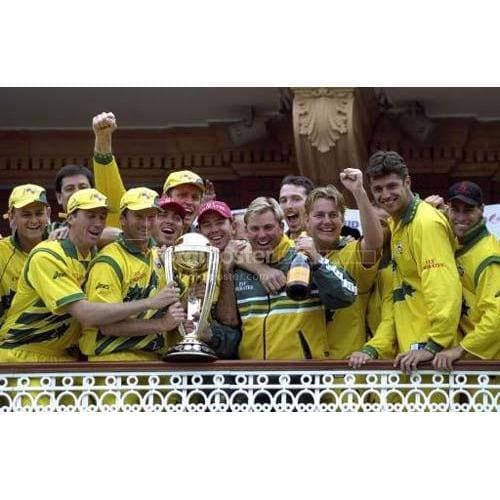 Australia With Trophy | Cricket Posters | TotalPoster