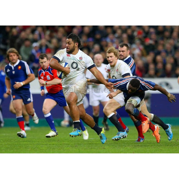 Billy Vunipola | England Six Nations rugbyposters TotalPoster