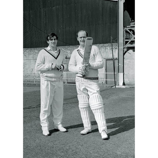 Brian Close & Fred Trueman | Cricket Posters | TotalPoster