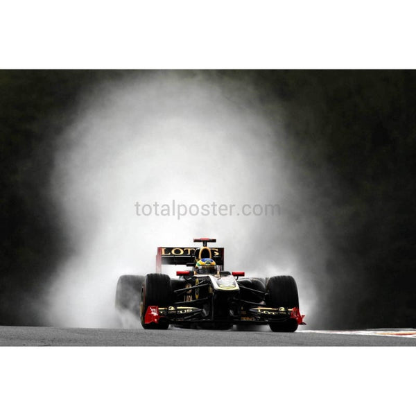 Bruno Senna / Renault during practice for the Belgian Formula One Grand Prix at the Circuit of Spa Francorchamps | TotalPoster