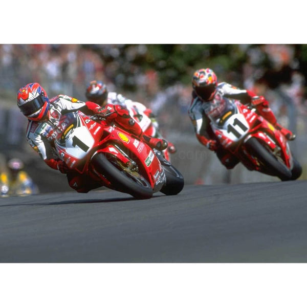 Carl Fogarty leads | Superbikes Posters | TotalPoster