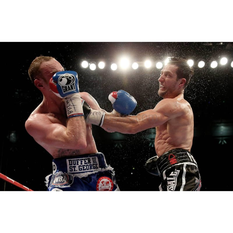 Carl Froch v George Goves Punch POSTER