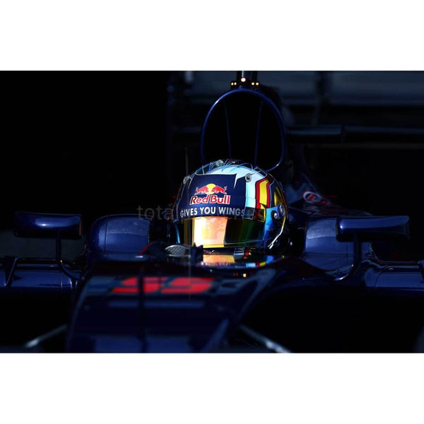 Carlos Sainz / Scuderia Toro Rosso exits the garage during day three of F1 winter testing at Circuit de Catalunya in Montmelo, Spain | TotalPoster