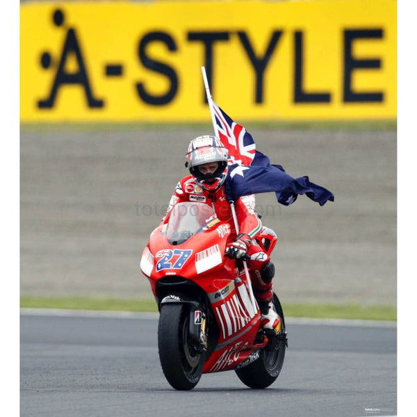 Casey Stoner 1st Championship | MotoGP posters