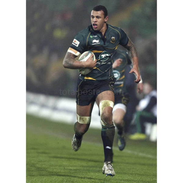 Courtney Lawes TotalPoster