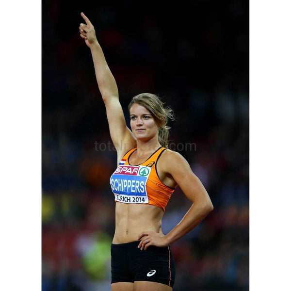 Dafne Schippers Total Poster