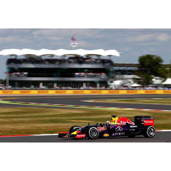 Daniel Ricciardo / Infiniti Red Bull Racing during qualifying for the Formula One Grand Prix of Great Britain at Silverstone Circuit in Northampton | TotalPoster