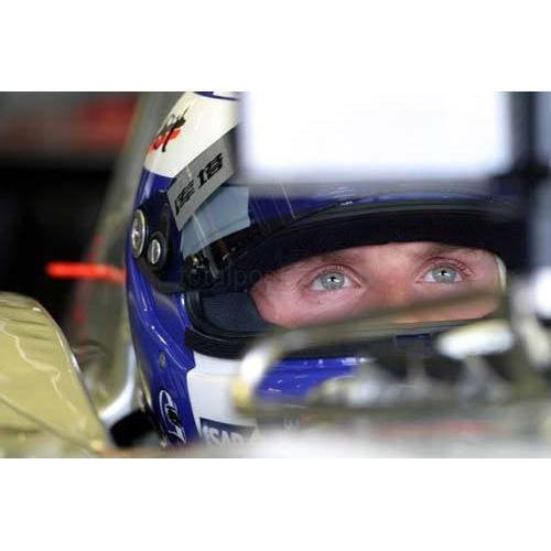 David Coulthard watches on the monitor before qualifying for the European Grand Prix at the Nurburgring | TotalPoster