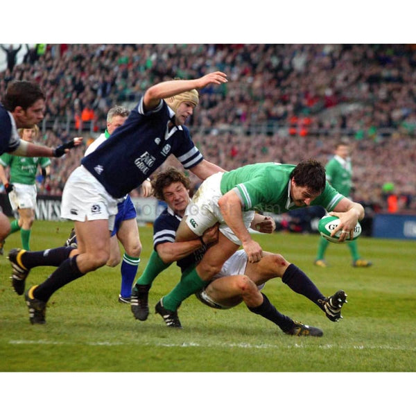 David Wallace | Ireland Six Nations rugby posters TotalPoster