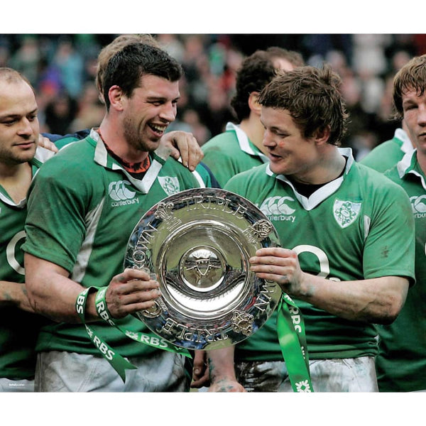 Brian O'Driscoll | Ireland Six Nations rugby posters TotalPoster