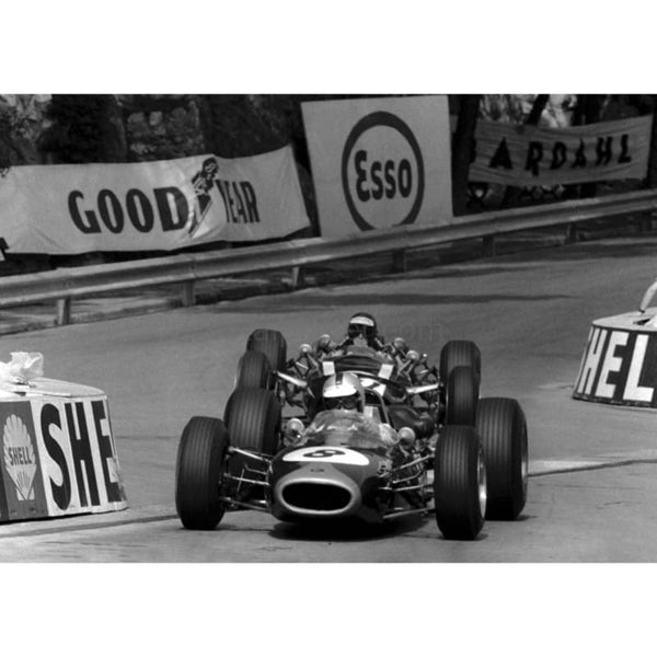 Denny Hulme / Brabham in action during the Monaco Grand Prix | TotalPoster