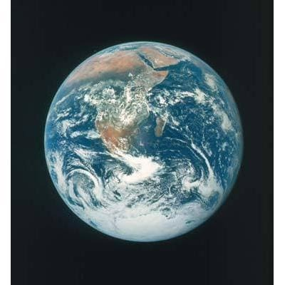 Earth Space View Poster | TotalPoster