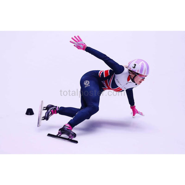 Elise Christie Total Poster