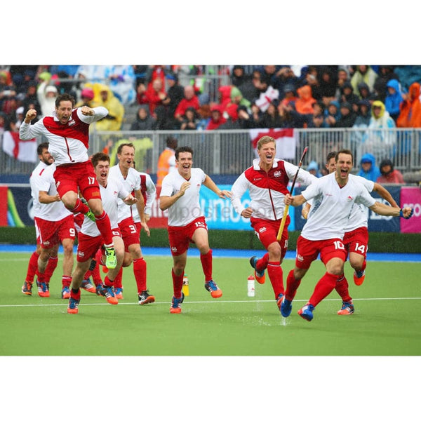 England Players Celebrate | Field Hockey posters | TotalPoster