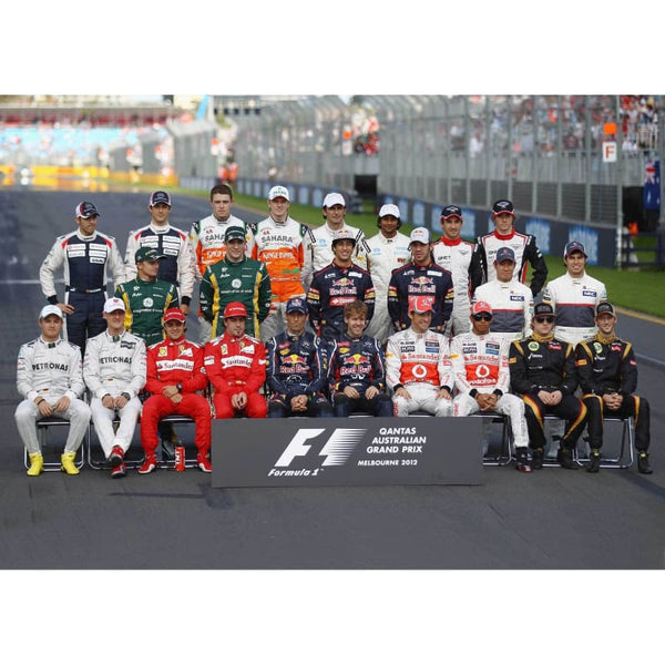 F1 Class Of 2012 - Poster