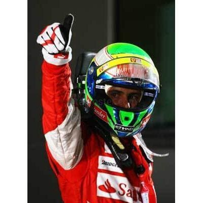 Felipe Massa / Ferrari F1 celebrates finishing third in the Australian Formula One Grand Prix at the Albert Park Circuit | TotalPoster