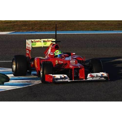 Felipe Massa in the new Ferrari 663 during Formula One winter testing at the Circuito de Jerez | TotalPoster