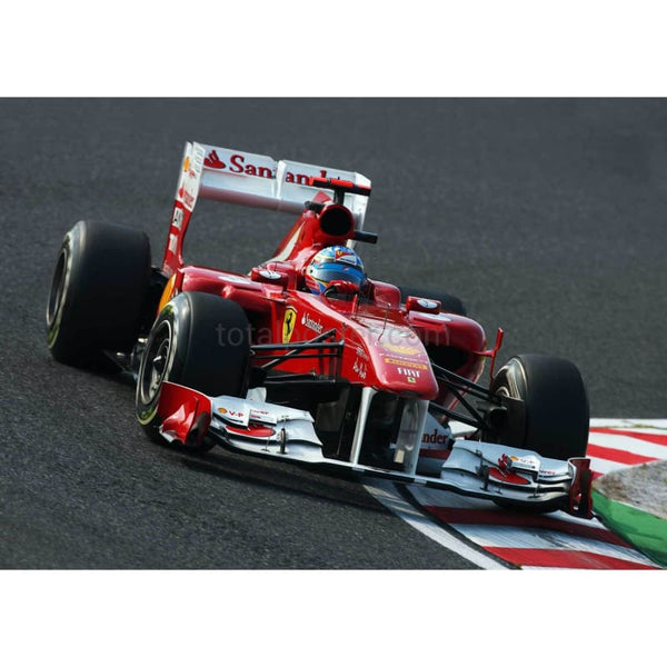 Fernando Alonso /Ferrari during practice for the Japanese Formula One Grand Prix at Suzuka | TotalPoster