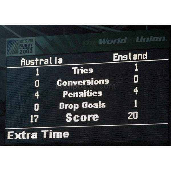 Final Scoreboard | Rugby Posters | TotalPoster