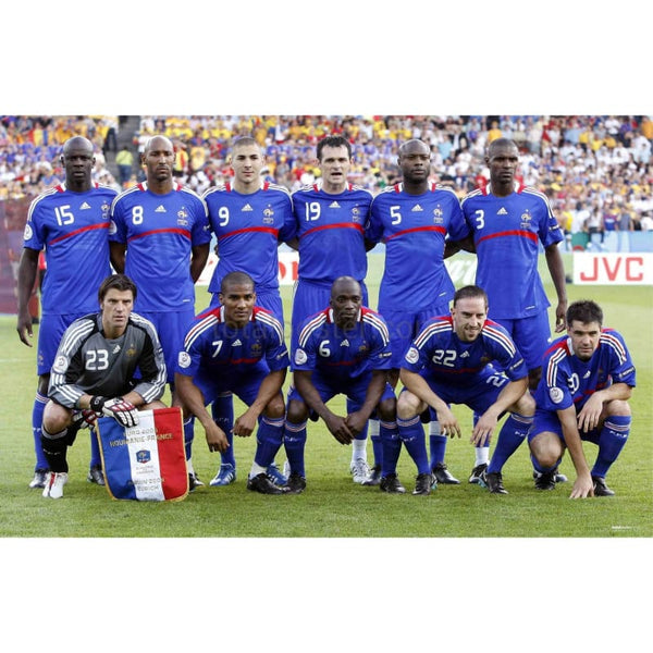 France Euro 2008 Soccer Team