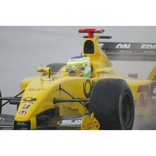 Giancarlo Fisichella / Jordan Honda during Friday practice for the British F1 Grand Prix at Silverstone | TotalPoster