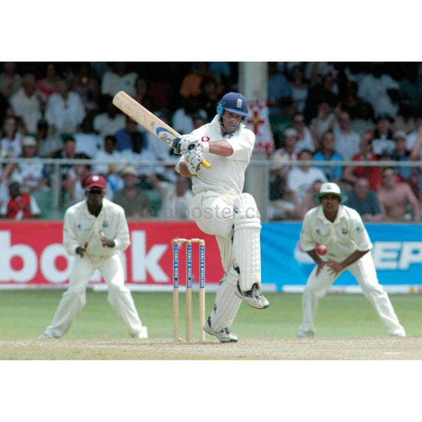 Graeme Thorpe in action during the Third Test between West Indies and England at the Kensington Oval - Bridgetown - Barbados | TotalPoster
