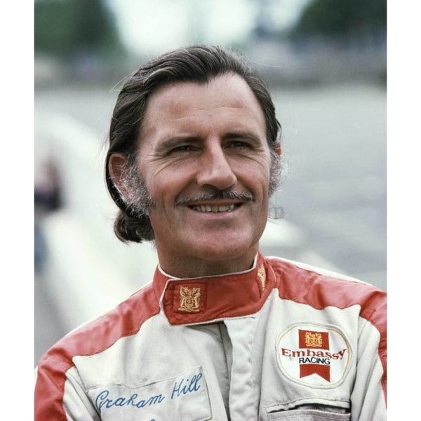 Graham Hill | Historic F1 posters  | TotalPoster