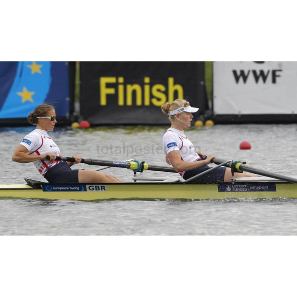 Helen Glover And Polly Swann - Poster