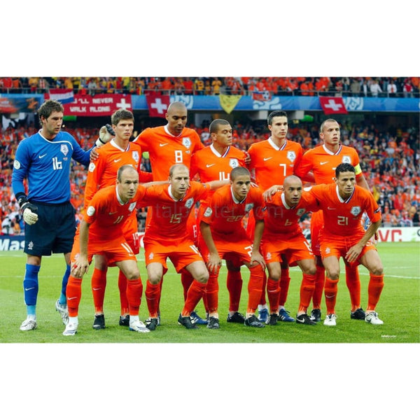 Holland Euro 2008 Soccer Team - Poster
