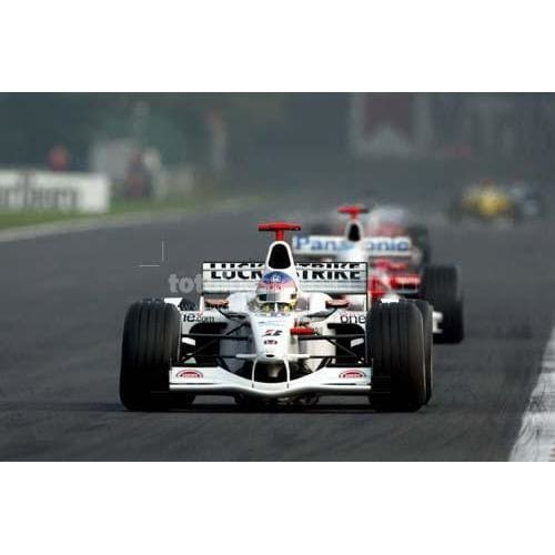 Jacques Villeneuve / BAR Honda during qualifying for the Belgian F1 Grand Prix at Spa Francorchamps | TotalPoster