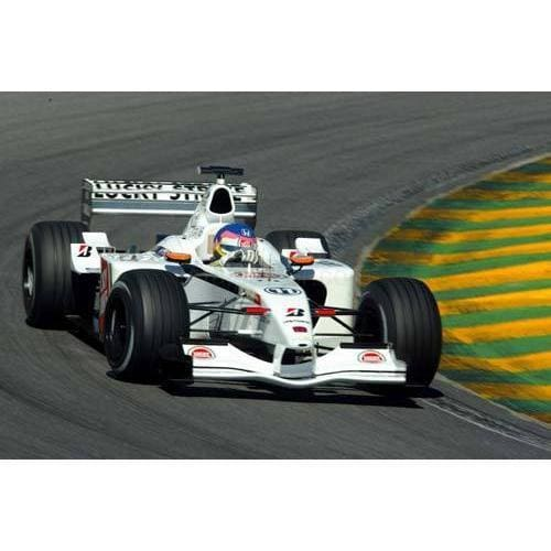 Jacques Villenueve / BAR Honda during the Brazilian F1 Grand Prix at Interlagos | TotalPoster