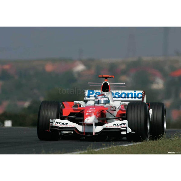 Jarni Trulli / Toyota F1 during qualifying for the Hungarian Grand Prix |  TotalPoster
