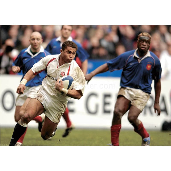 Jason Robinson | England Six Nations rugby posters TotalPoster