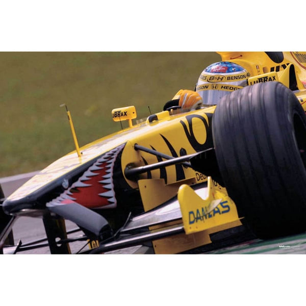 Jean Alesi / Jordan Honda EJ11 during qualifying for the Italian Grand Prix at Monza | TotalPoster