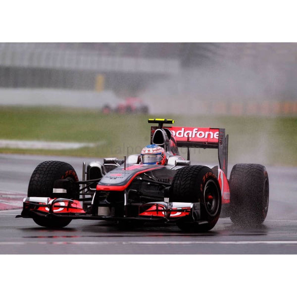 Jenson Button / McLaren on his way to winning the Canadian Formula One Grand Prix at the Circuit Gilles Villeneuve | TotalPoster