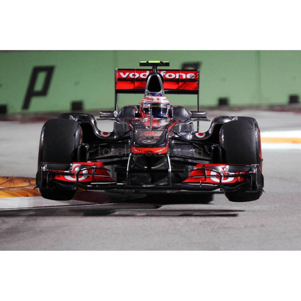 Jenson Button / McLaren during the final practice session prior to qualifying for the Singapore Formula One Grand Prix at the Marina Bay Street Circuit | TotalPoster