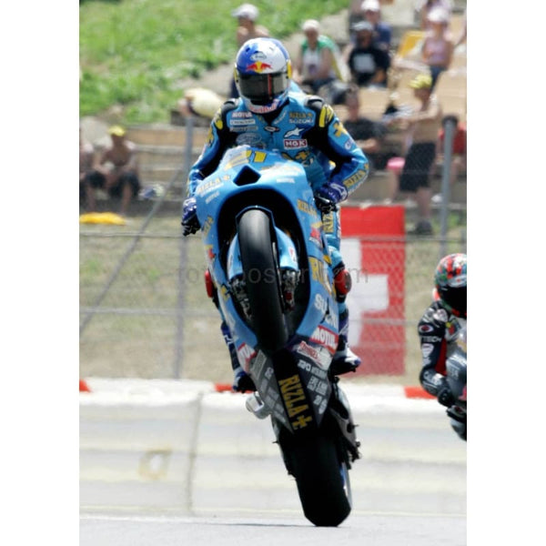 John Hopkins wheelie | MotoGP posters | TotalPoster
