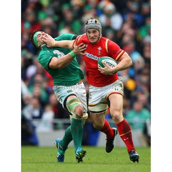 Jonathan Davies hands off | Wales Six Nations posters TotalPoster
