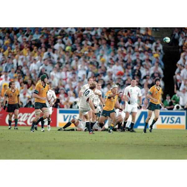 Jonny Wilkinson Drop Goal poster | World Cup Rugby