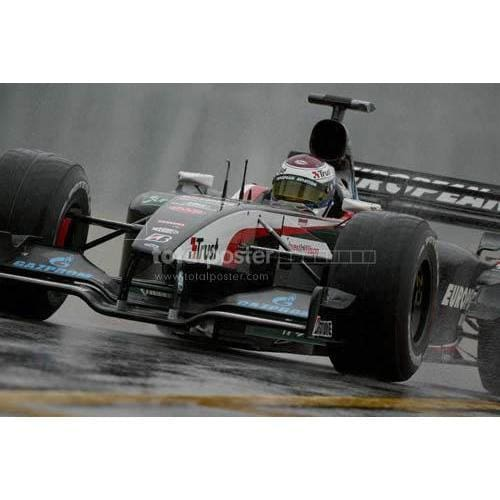 Jos Verstappen in the wet Friday practice for the Brazilian Grand Prix at Interlagos in Brazil | TotalPoster