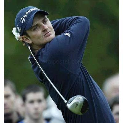 Justin Rose TotalPoster