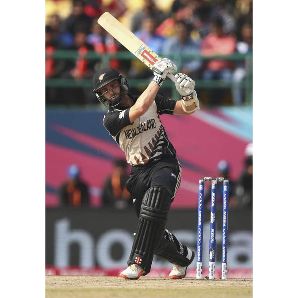 Kane Williamson bats during the ICC World Twenty20 India 2016 Super 10s Group 2 match between Australia and New Zealand at HPCA Stadium | TotalPoster