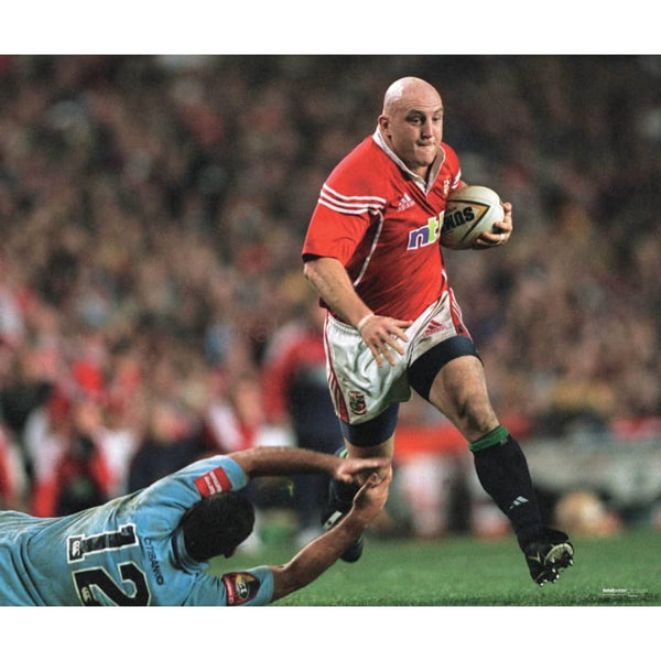 Keith Wood poster | British Lions Rugby | TotalPoster