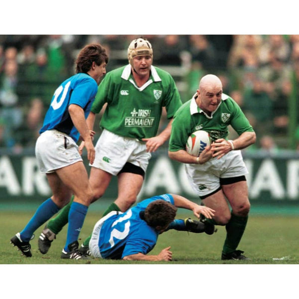 Keith Wood | Ireland Six Nations rugby posters TotalPoster